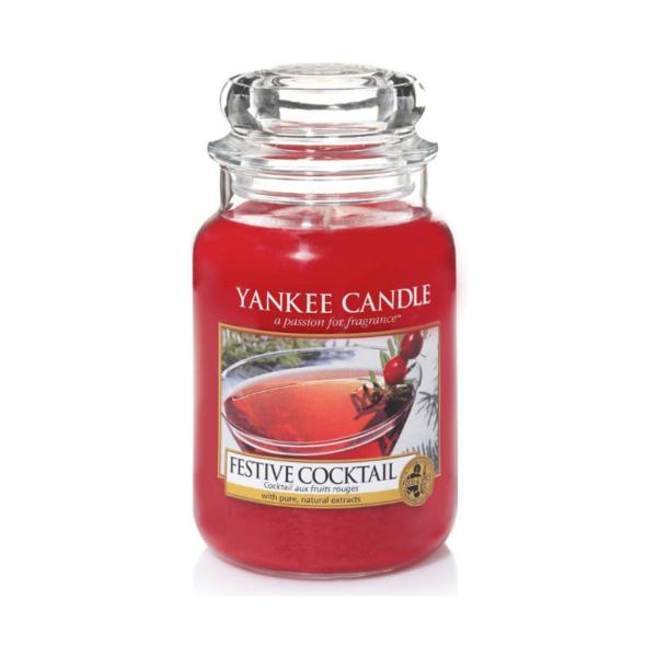 Yankee Candle Vela En Tarro Festive Cocktail 623gr