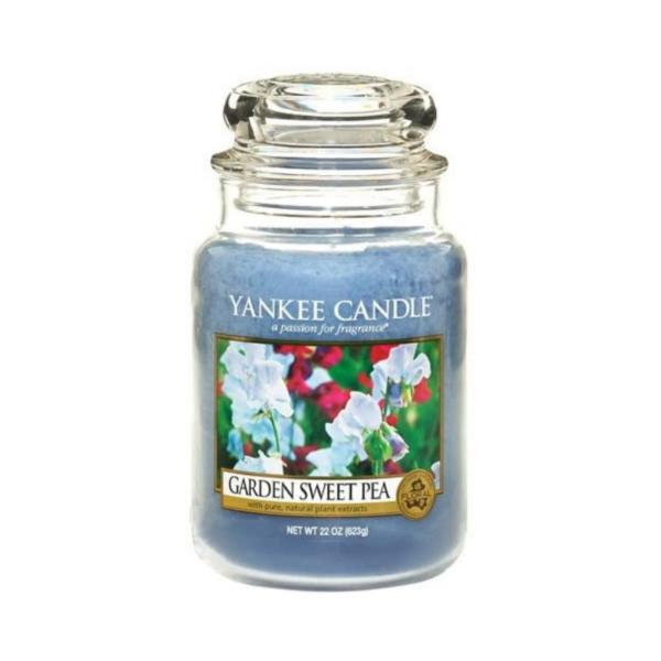 Yankee Candle Vela En Tarro Garden Sweet Pea 623gr