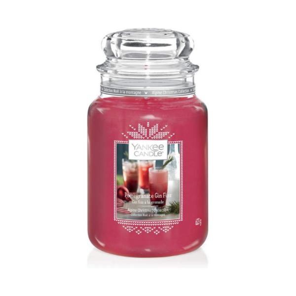 Yankee Candle Vela En Tarro Pomegranate Gin Fizz 623gr