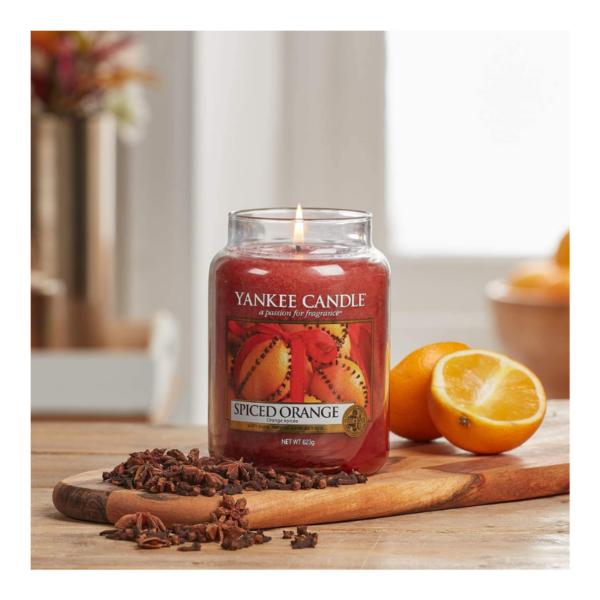 Yankee Candle Vela En Tarro Spiced Orange 623gr