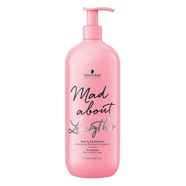 Schwarzkopf Mad About Lengths Root to Tip Champú 1000ml
