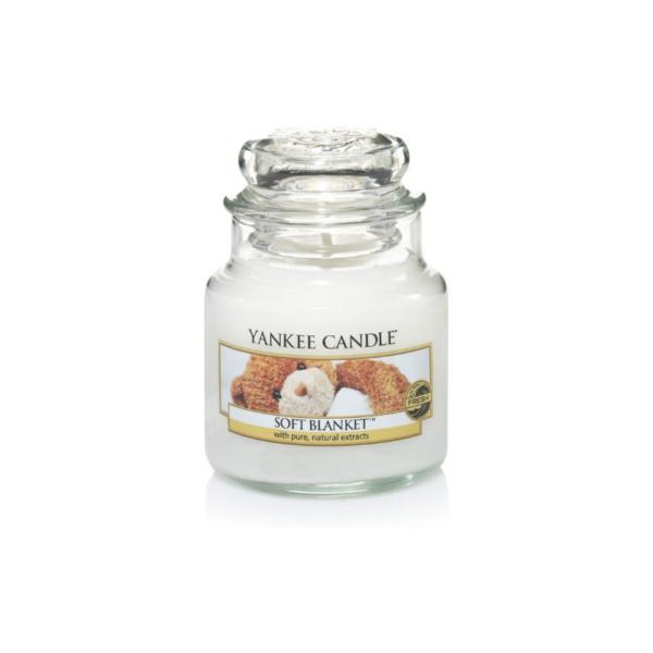 Yankee Candle Vela En Tarro Soft Blanket 104gr