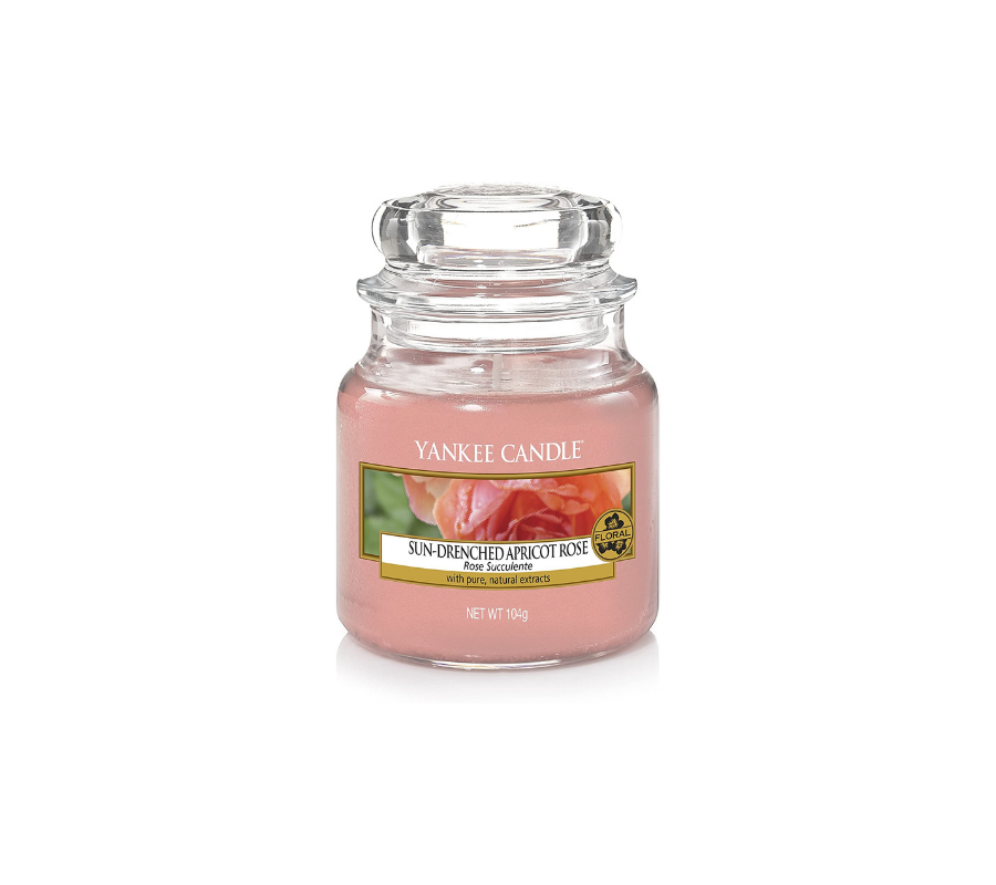 Yankee Candle Vela En Tarro Sun-Drenched Apricot Rose 104gr