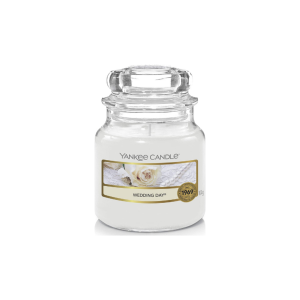 Yankee Candle Vela En Tarro Wedding Day 104gr