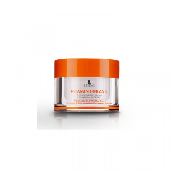Lendan Vitamin Forza C Crema Nutritiva Facial UVB + UVA 50ml