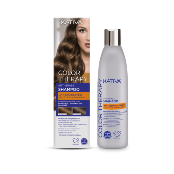 Kativa Color Therapy Anti-Orange Champú 250ml
