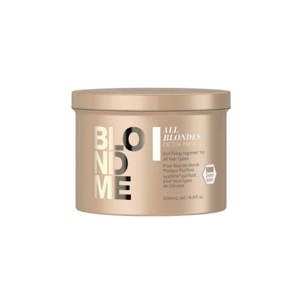 Schwarzkopf Professional Blondme All Blondes Mascarilla Detox 500ml
